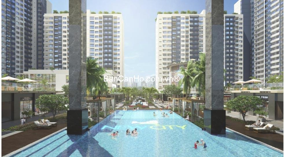 Hồ bơi New City Thủ Thiêm